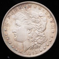 1892 Morgan Silver Dollar at PristineAuction.com