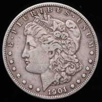 1901-S Morgan Silver Dollar at PristineAuction.com