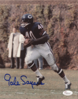 Gale Sayers Signed Bears 8x10 Photo (JSA COA) at PristineAuction.com