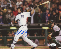 Magglio Ordonez Signed Tigers 8x10 Photo (JSA COA) at PristineAuction.com