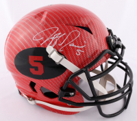 Jeff Garcia Signed 49ers Full-Size Authentic On-Field Hyrdo-Dipped Vengeance Helmet (Beckett COA) at PristineAuction.com