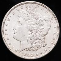 1903 Morgan Silver Dollar at PristineAuction.com