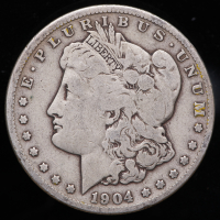 1904-S Morgan Silver Dollar at PristineAuction.com