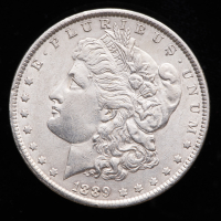 1889 Morgan Silver Dollar at PristineAuction.com