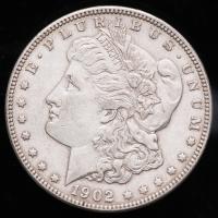 1902 Morgan Silver Dollar at PristineAuction.com