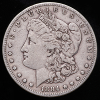 1884-S Morgan Silver Dollar at PristineAuction.com