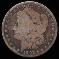 1892-S Morgan Silver Dollar at PristineAuction.com