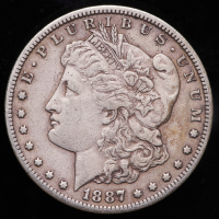 1887-S Morgan Silver Dollar at PristineAuction.com