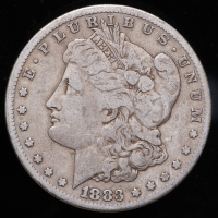 1883-S Morgan Silver Dollar at PristineAuction.com