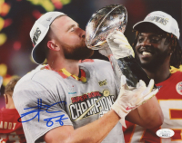 Travis Kelce Signed Chiefs 8x10 Photo (JSA COA) at PristineAuction.com