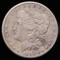 1896-S Morgan Silver Dollar at PristineAuction.com