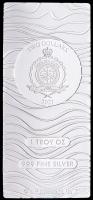 "1 Troy Oz .999 Fine Silver Niue Mint ""Star Wars: The Mandalorian"" Beskar Bullion Bar at PristineAuction.com"