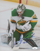 Cam Talbot Signed Wild 8x10 Photo (JSA COA) at PristineAuction.com