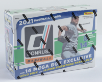 2021 Panini Donruss Baseball Mega Box with (14) Packs (See Description) at PristineAuction.com