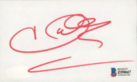 Halle Berry Signed 3x5 Cut (Beckett COA) at PristineAuction.com