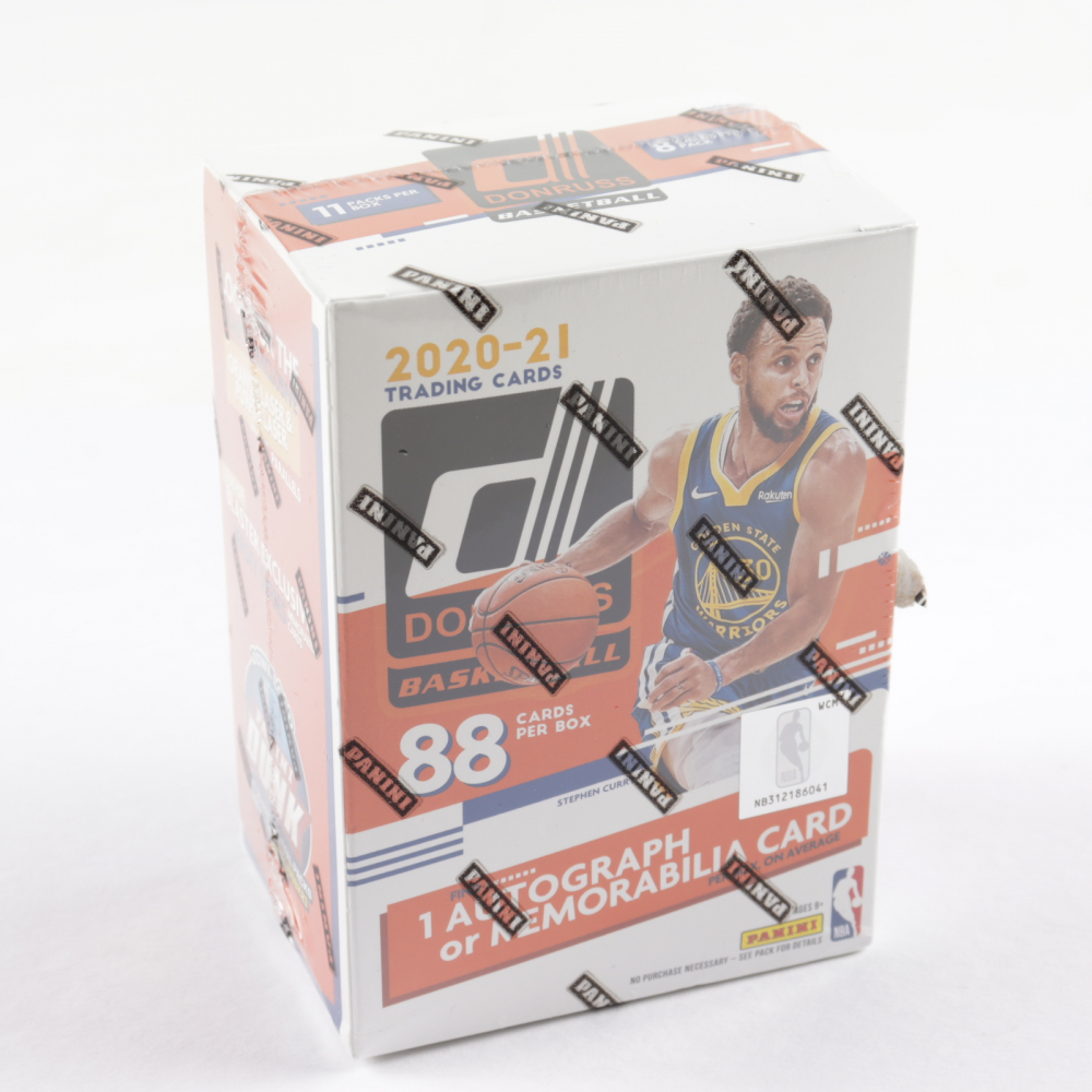 2020-21 Donruss Basketball Blaster Box with (11) Packs at PristineAuction.com