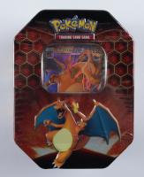 Pokemon TCG: Hidden Fates Tin - Charizard at PristineAuction.com