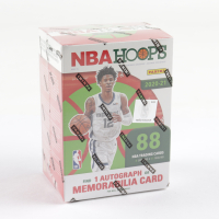 2020-21 Panini NBA Hoops Holiday Basketball Blaster Box with (11) Packs at PristineAuction.com