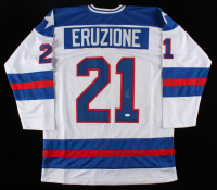 Mike Eruzione Signed Jersey (JSA COA) at PristineAuction.com