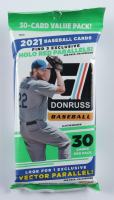 2021 Panini Donruss Baseball Cello Pack with (30) Cards at PristineAuction.com