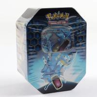 Pokemon TCG: Sun & Moon Hidden Fates Collector's Tin - Gyarados - GX at PristineAuction.com