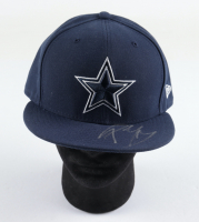 Post Malone Signed Cowboys Fitted Hat (Beckett COA) at PristineAuction.com