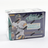 2019 Panini Absolute Football Blaster Box with (8) Packs at PristineAuction.com