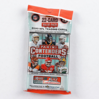 2020 Panini Contenders Football Cello Pack with (22) Cards at PristineAuction.com