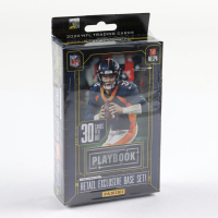 2020 Panini Playbook Football Exclusive Hanger Box with (30) Cards at PristineAuction.com