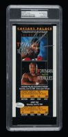 Mike Tyson Signed Caesars Palace Las Vegas Fight Ticket (PSA Encapsulated) at PristineAuction.com