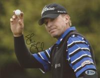 Steve Stricker Signed 8x10 Photo (Beckett COA) at PristineAuction.com