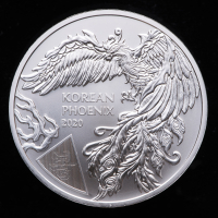 2020 South Korea 1 oz Silver Phoenix Coin at PristineAuction.com