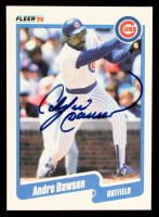 Andre Dawson Signed 1990 Fleer #29  (JSA COA) at PristineAuction.com