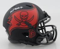 Antonio Brown Signed Buccaneers Eclipse Alternate Speed Mini Helmet (JSA COA) at PristineAuction.com