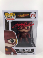 "Grant Gustin Signed ""Flash"" #213 Funko Pop! Vinyl Figure (JSA COA) at PristineAuction.com"