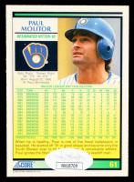 Paul Molitor Signed 1992 Score #61 (JSA COA) at PristineAuction.com