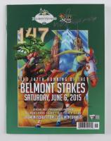 Victor Espinoza Signed Belmont Stakes Program (Steiner COA & Fanatics Hologram) at PristineAuction.com