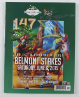 Victor Espinoza Signed Belmont Stakes Program (Steiner COA & Fanatics Hologram) at PristineAuction.com