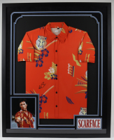 "Al Pacino Signed ""Scarface"" 34x42 Custom Framed Shirt Display (JSA COA) (See Description) at PristineAuction.com"