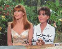 "Dawn Wells & Tina Louise Signed ""Gilligan's Island"" 8x10 Photo Inscribed ""Love Mary Ann"" (Beckett COA) at PristineAuction.com"