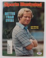 Jack Nicklaus Signed 1978 Sports Illustrated Magazine (PSA COA) at PristineAuction.com