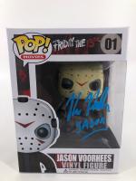 "Kane Hodder  Signed ""Friday the 13th"" #01 Jason Voorhees Funko Pop! Vinyl Figure Inscribed ""Jason"" (JSA COA) at PristineAuction.com"