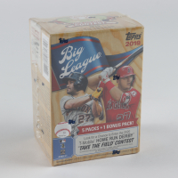 2019 Topps Big League Baseball Blaster Box with (6) Packs at PristineAuction.com