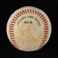 Joe Pepitone, Dave Winfield, & Yogi Berra Signed ONL Baseball (JSA COA) (See Description) at PristineAuction.com