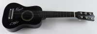 Cheech Marin & Tommy Chong Signed Mini Acoustic Guitar (JSA COA) at PristineAuction.com