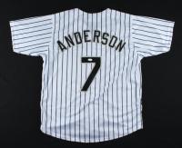 Tim Anderson Signed Jersey (JSA Hologram) at PristineAuction.com