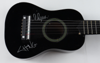 Cheech Marin & Tommy Chong Signed Mini Acoustic Guitar (JSA COA) (See Description) at PristineAuction.com