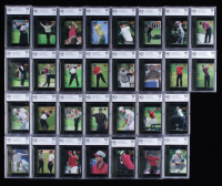 Complete Set of (30) Beckett (BCCG) Graded 10 2001 Upper Deck Tiger's Tales Golf Cards at PristineAuction.com