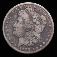 1879-CC Morgan Silver Dollar at PristineAuction.com