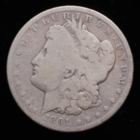 1891-CC Morgan Silver Dollar at PristineAuction.com